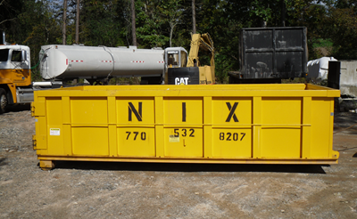 Dumpster Rentals Nix Tank Company Locally Owned And